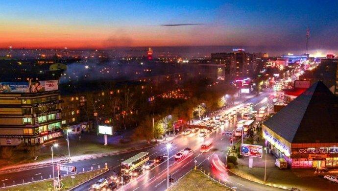Хакеры включили порно в центре москвы
