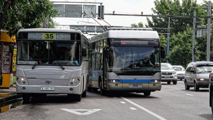 Общественный транспорт Алматы не приспособлен для перевозки инвалидов