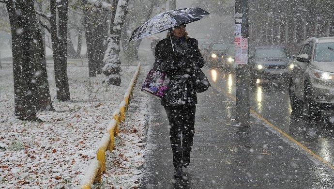 Прогноз погоды на 15 ноября: снег пройдёт на северо-востоке, северо-западе и центре Казахстана