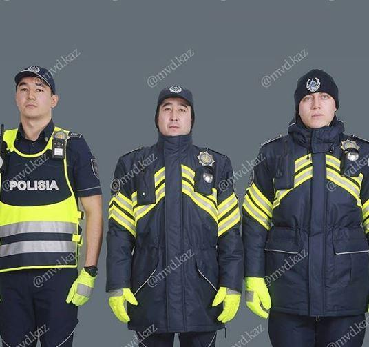 В МВД показали проект новой формы полицейских