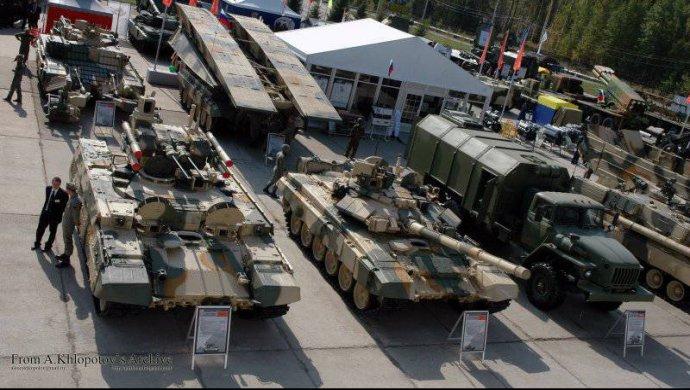 Россия заняла второе место в мире по продаже вооружения