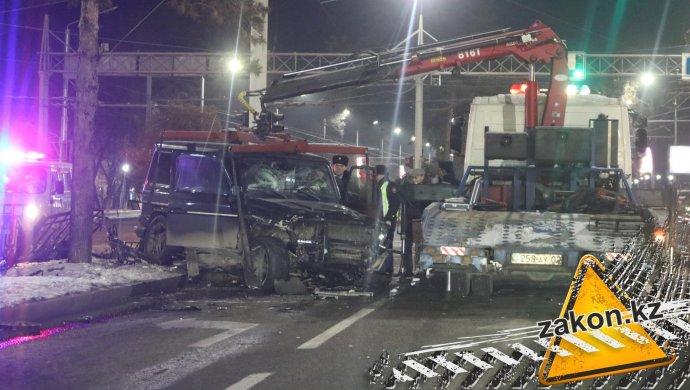 ДТП с участием Gelandewagen в Алматы: так был ли пьян водитель?