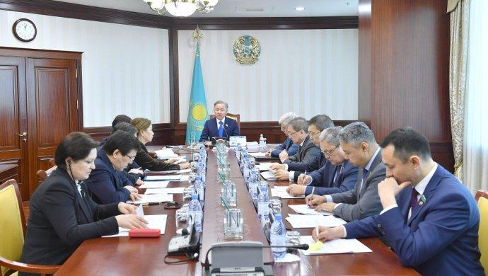 Прошло заседание Бюро Мажилиса под председательством Нурлана Нигматулина