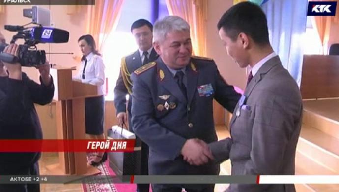 17-летний Мирас Жунисов спас из огня двух человек в Уральске