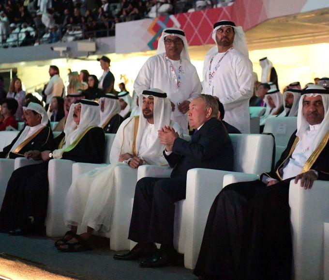 Нурсултан Назарбаев поселил церемонию открытия Всемирных Специальных Олимпийских игр