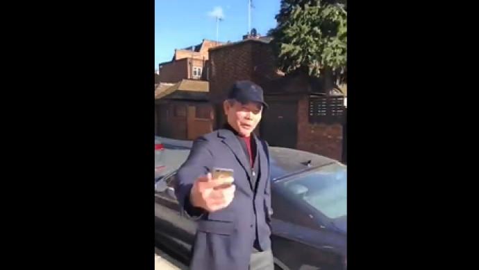 Беглый аким Бергей Рыскалиев гуляет по Лондону - в Сети появилось видео