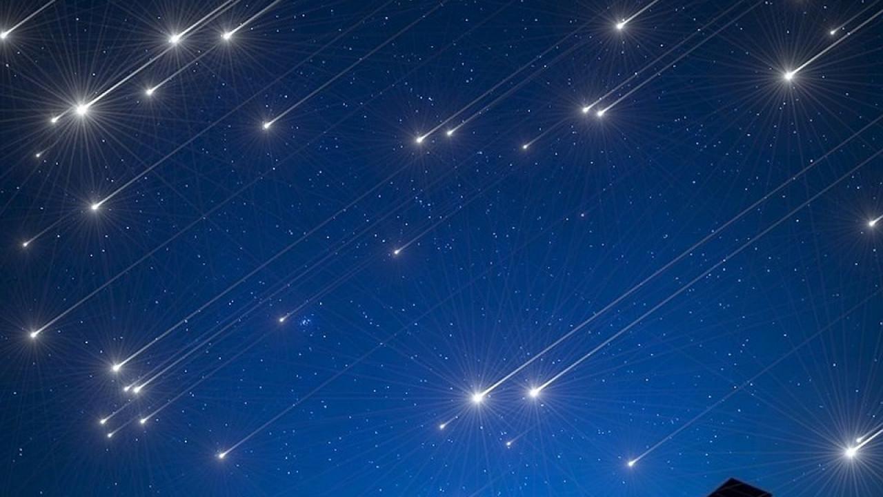Весенний звездопад смогут увидеть казахстанцы в апреле