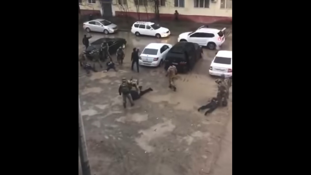 Спецоперация в Атырау: задержаны салафиты (ВИДЕО)