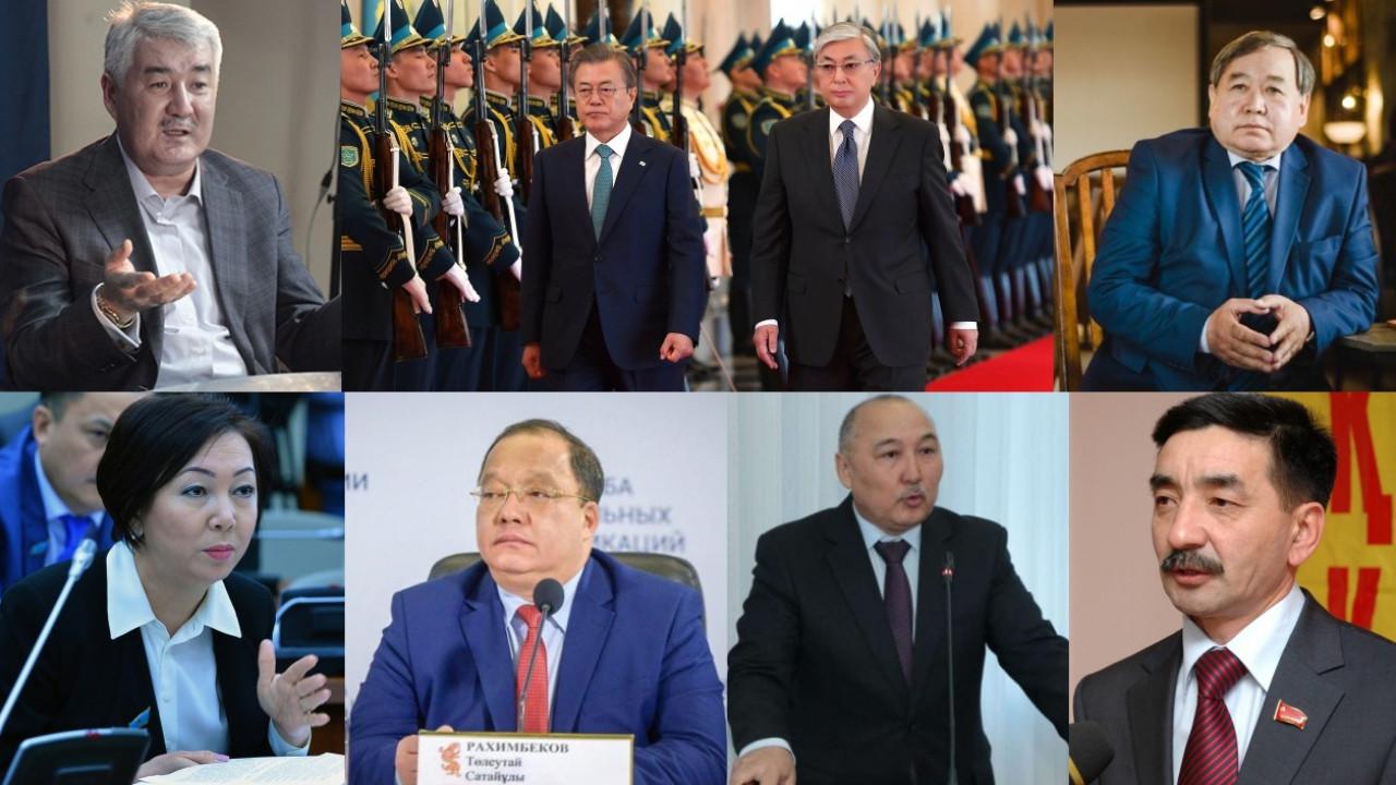 Кандидаты в президенты. Новая геополитическая реальность Елбасы. Инвесторы Кореи – итоги недели