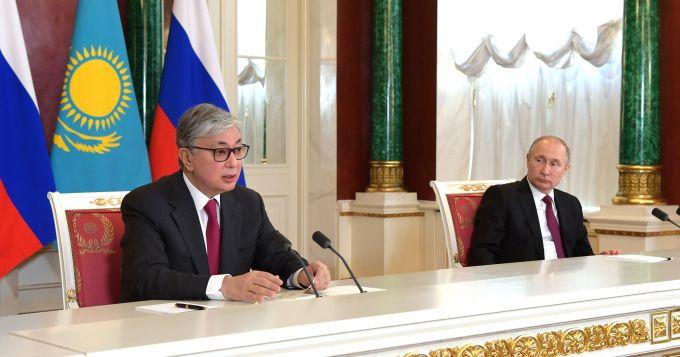 Какие документы подписали Токаев и Путин