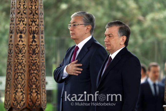 Касым-Жомарт Токаев и Шавкат Мирзиеев встретились в Ташкенте