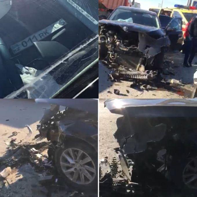 ДТП с участием служебного авто в Атырау: Замакима в машине не было, - акимат