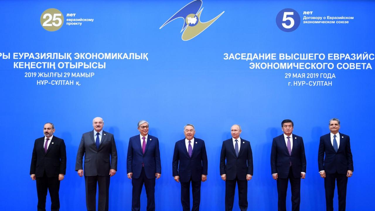 Заседание Высшего Евразийского экономического совета началось в Нур-Султане