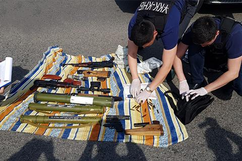 ОПГ поставщиков оружия ликвидировал КНБ в Алматы и Алматинской области