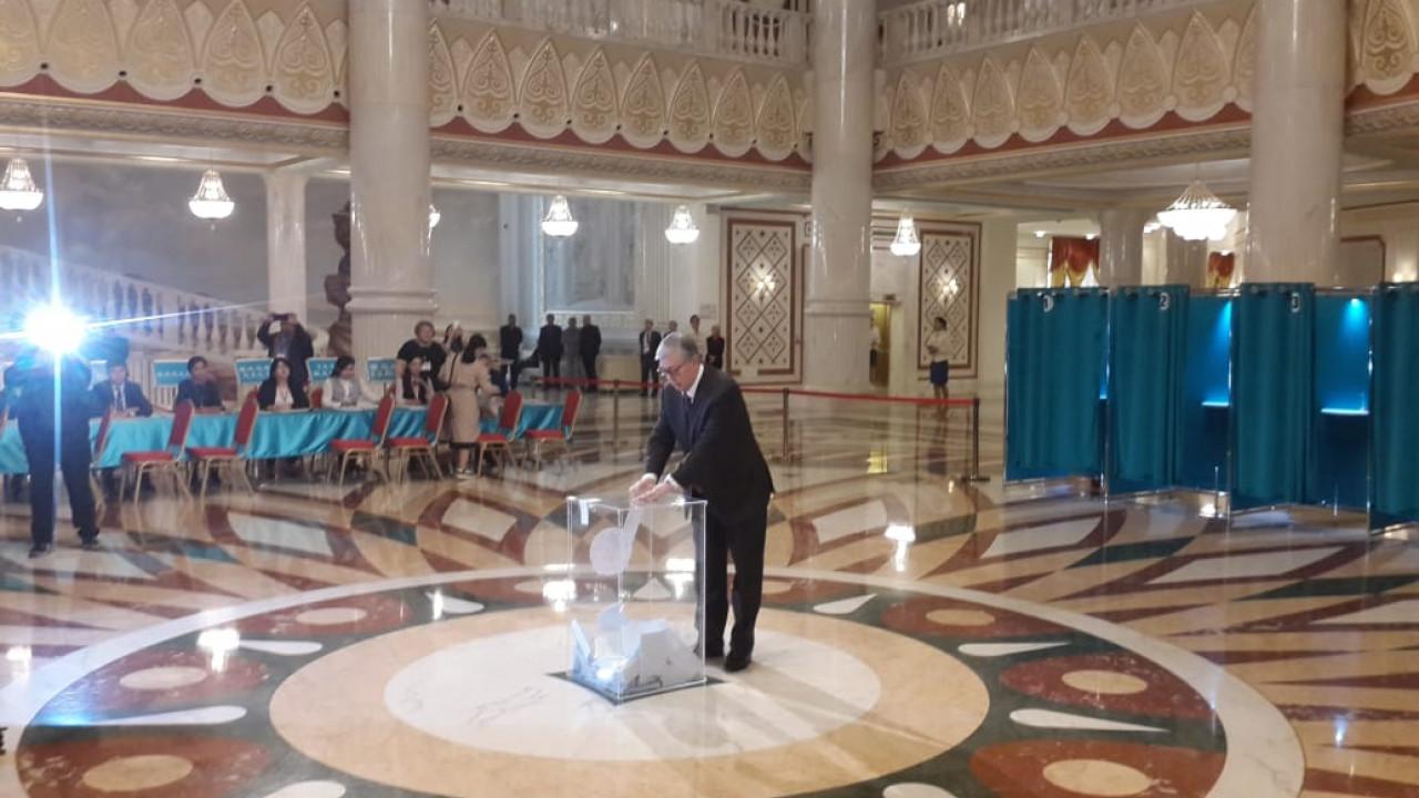 Выборы - это соревнование программ, а не конфликт, - Касым-Жомарт Токаев