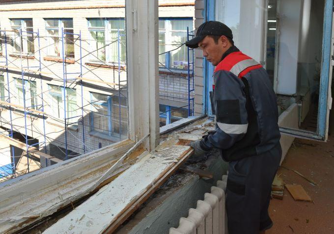 В СКО начался масштабный ремонт 120 школ