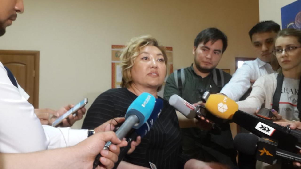 Суханбердиева намерена опубликовать книгу о жизни за решеткой