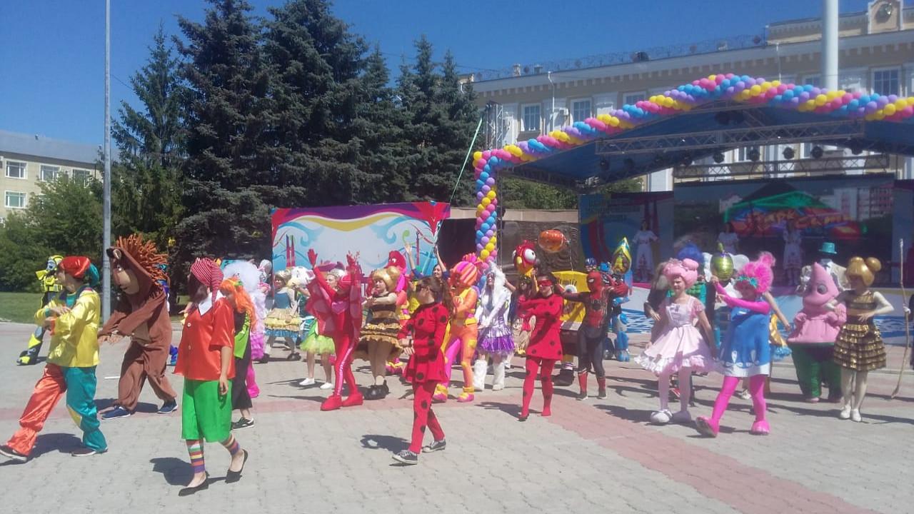 Жители Петропавловска отметили День города