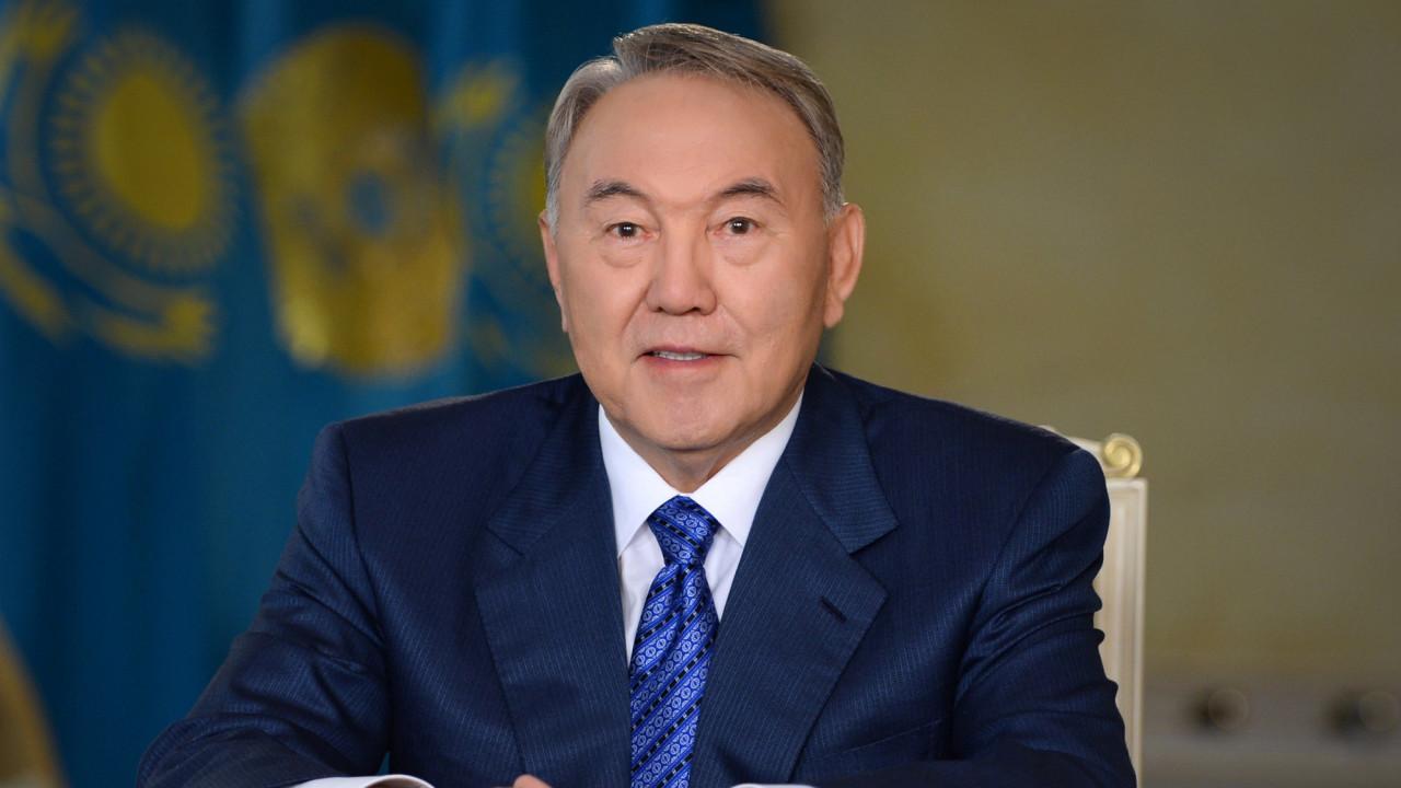 Назарбаев получил медаль