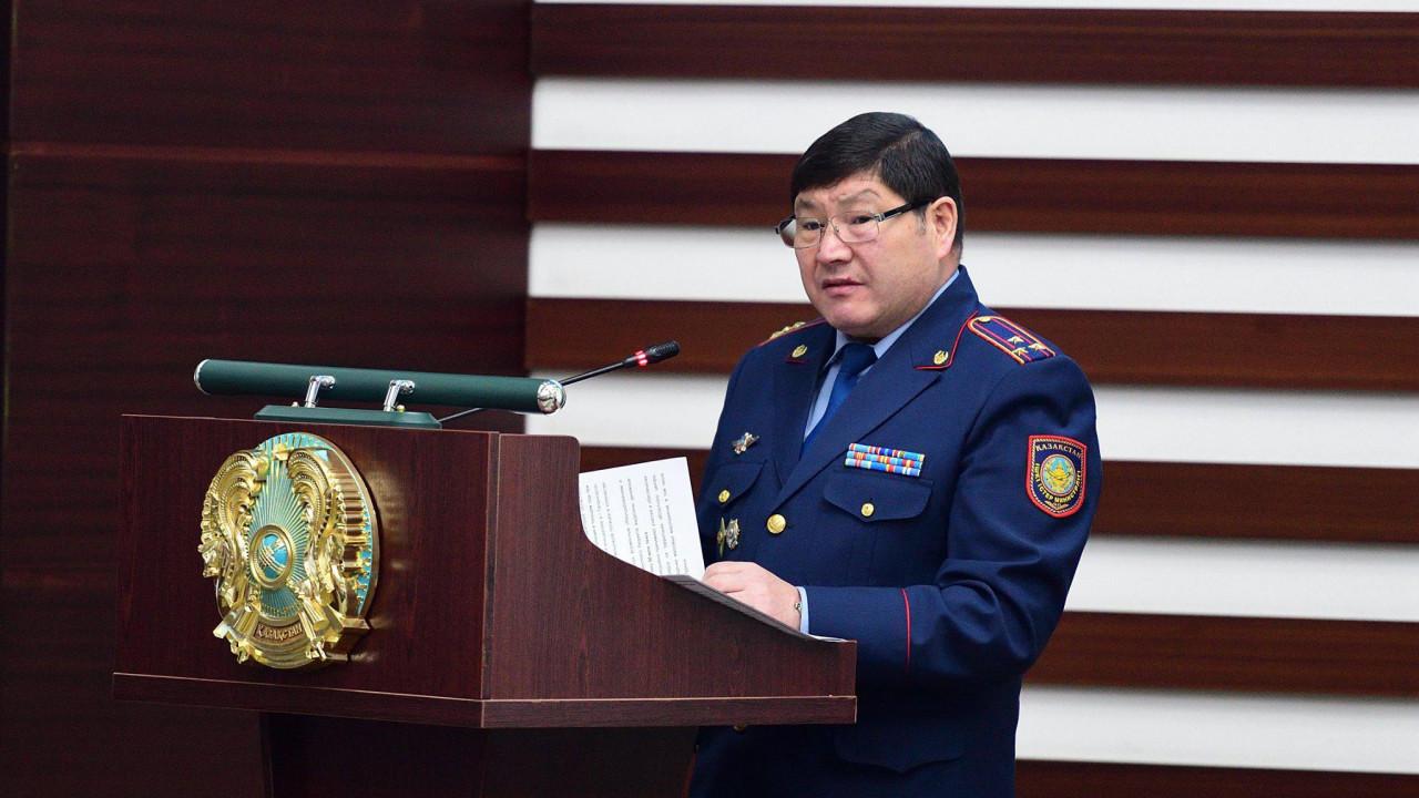 Начальника местной полиции Алматинской области отстранили из-за аудио в YouTube