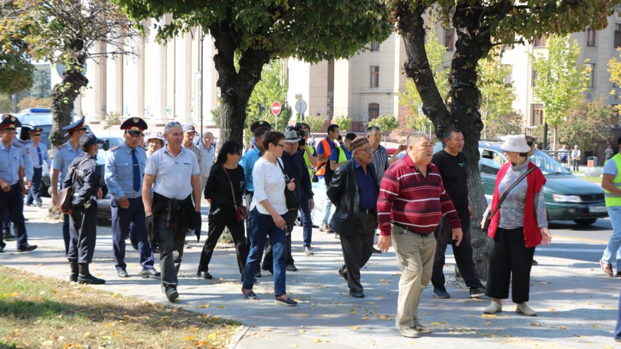 Четверых участников митинга в Нур-Султане привлекли к ответственности