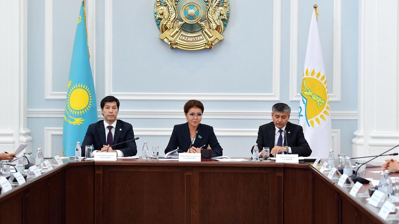 Дарига Назарбаева предложила проводить парламентские слушания с участием акимов