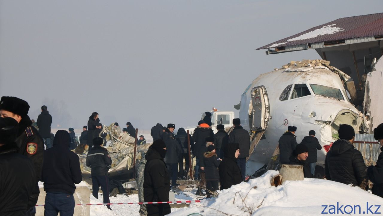 Фото с места крушения самолета в сочи