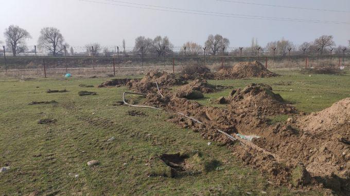 Нелегальный бензопровод обнаружен на казахстанско-кыргызской границе