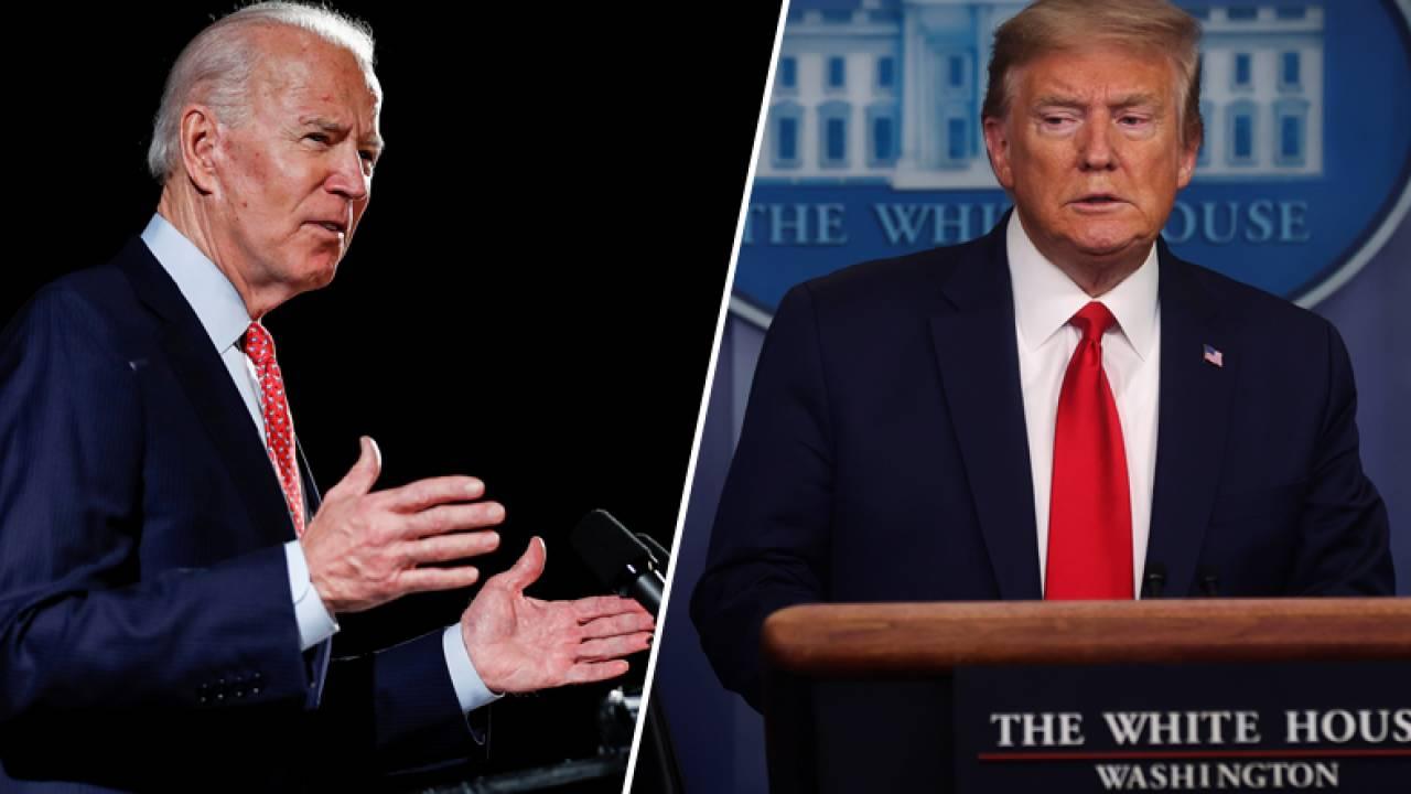 Байден заявил, что дебаты нужно отменить, если Трамп не успеет выздороветь