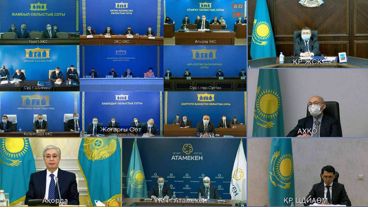 Суды не должны оглядываться на следственные органы - К.Токаев