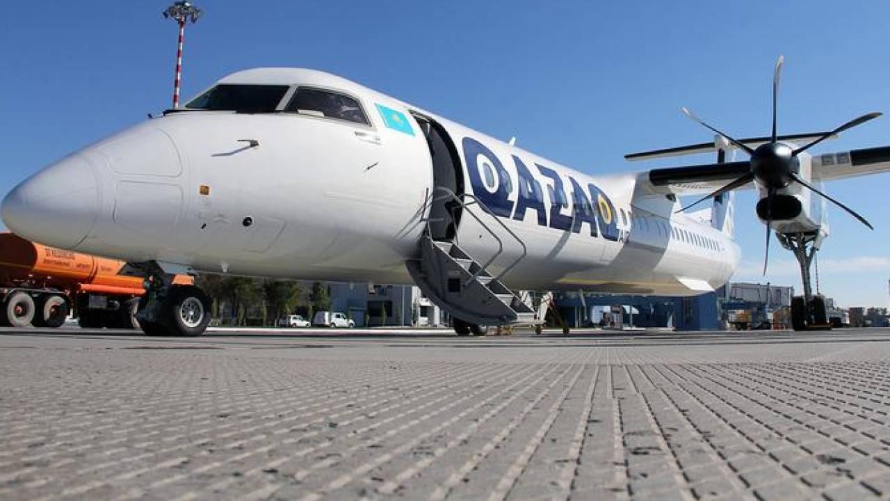 У самолета Qazaq Air лопнули шины: начато расследование