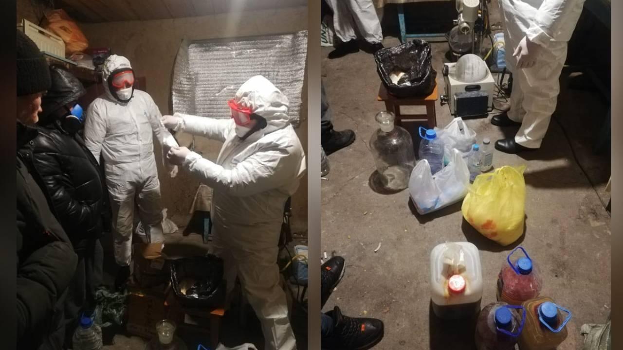 Семья подозревается в изготовлении наркотиков в СКО