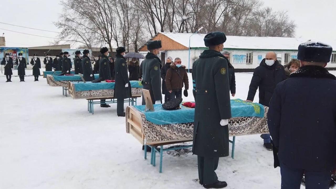 Авиакатастрофа АН-26: В Алматы простились с погибшими