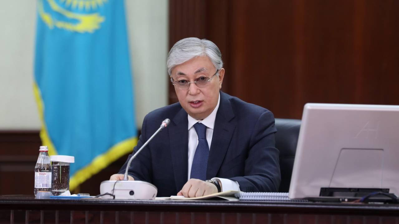 К.Токаев выступил с обращением на саммите тюркоязычных стран