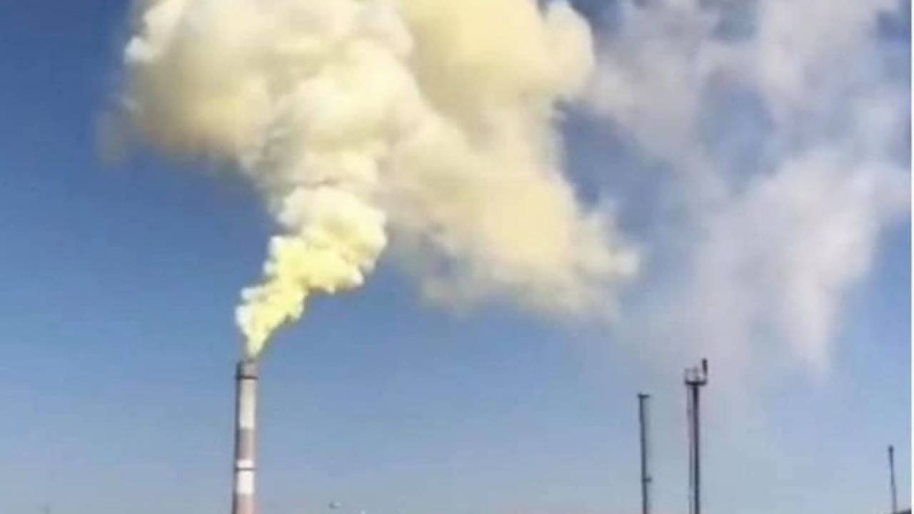 На Тенгизе произошел аварийный выброс вредных веществ