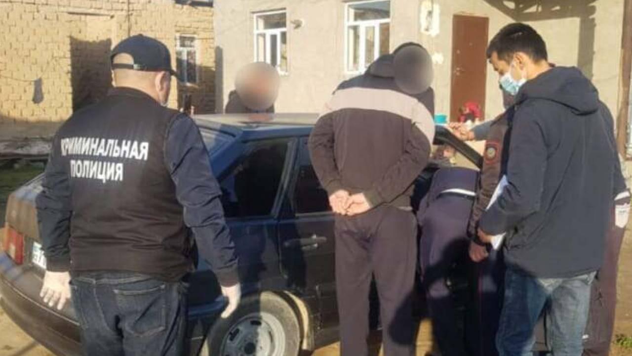 Спецоперация по ликвидации ОПГ прошла в Туркестанской области