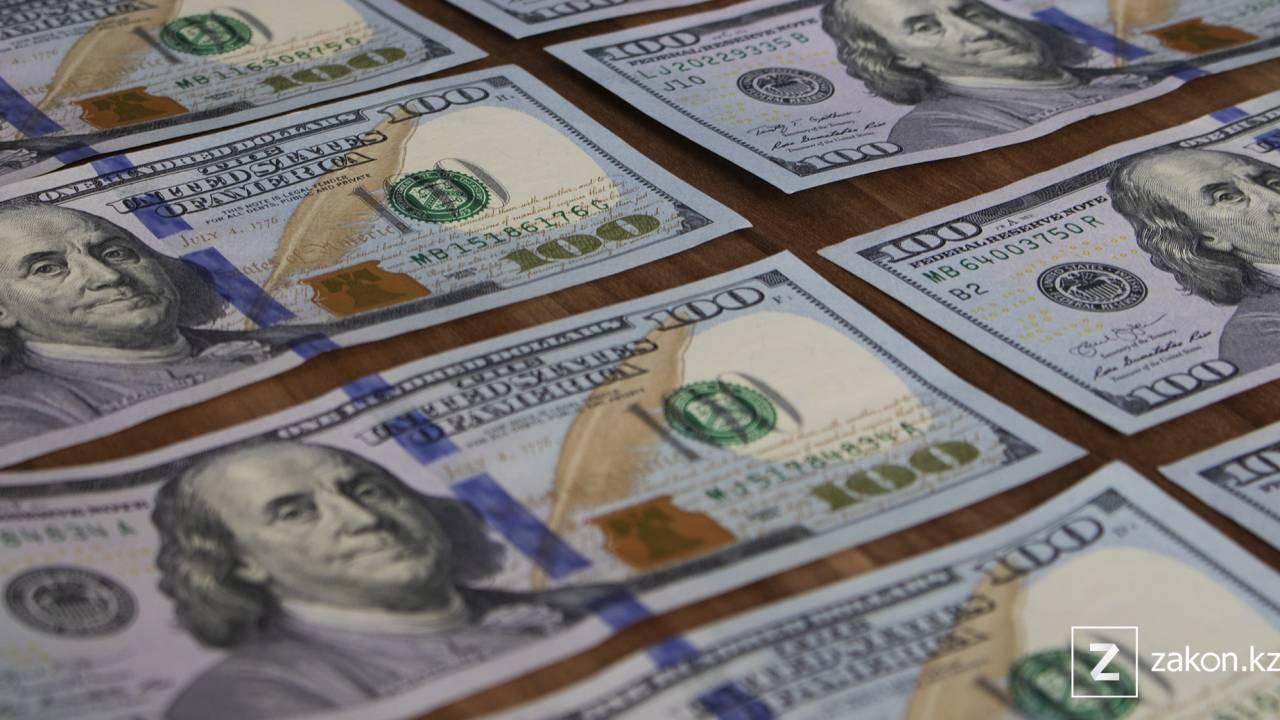 Курс доллара составил 428,40 тенге