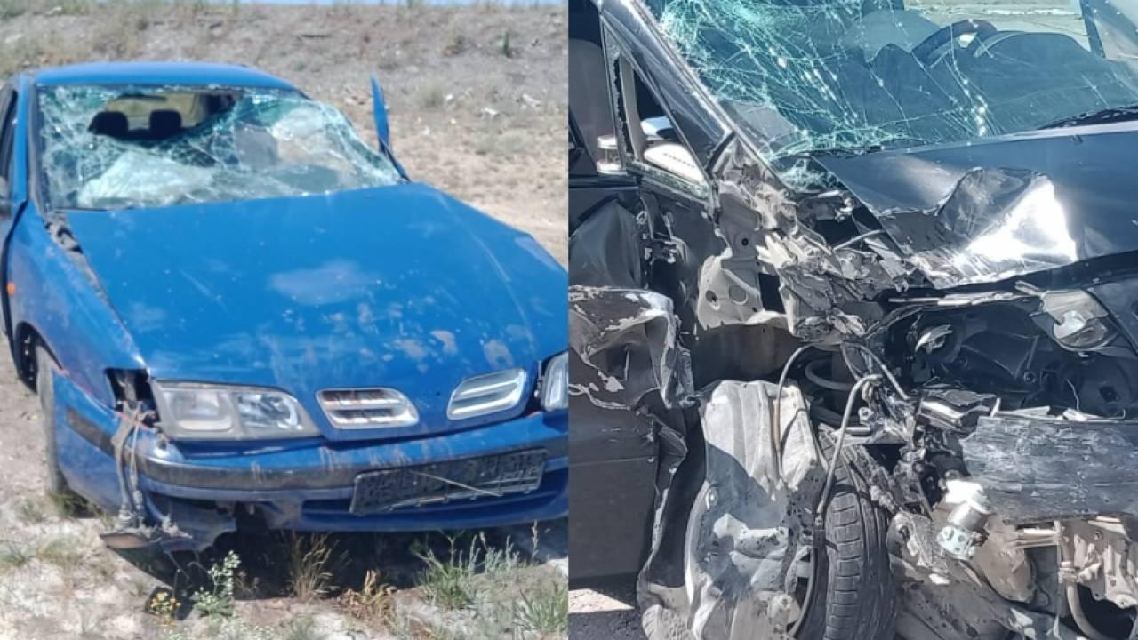 4-летний ребенок пострадал в результате ДТП на трассе Самара-Шымкент