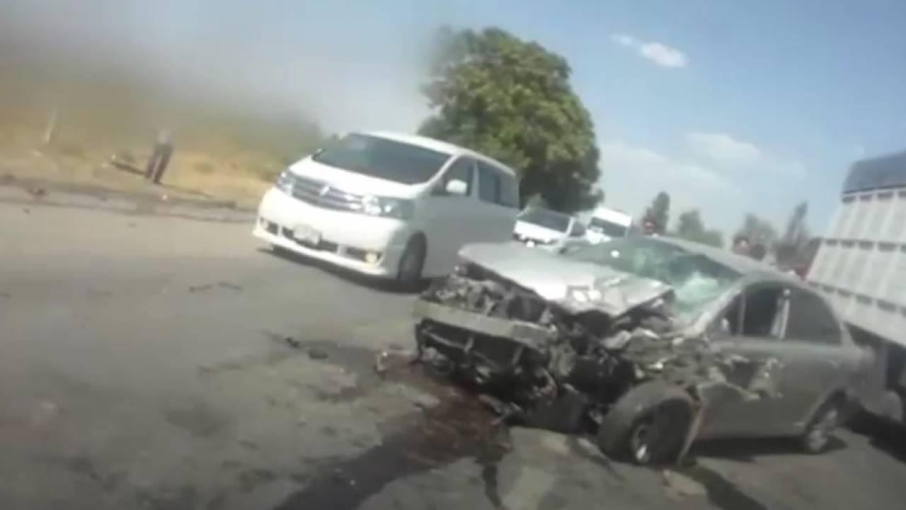 Смертельное ДТП произошло на трассе в Туркестанской области