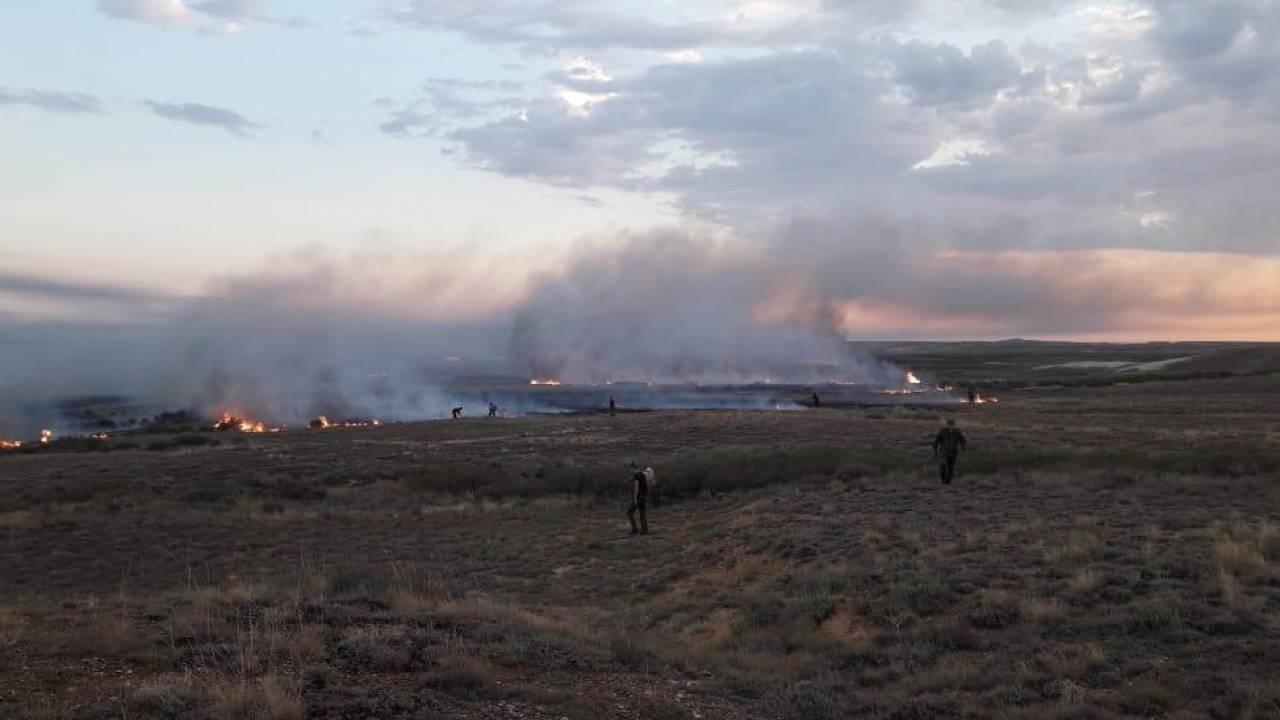 Более 30 пожаров произошло в Казахстане в праздничные дни