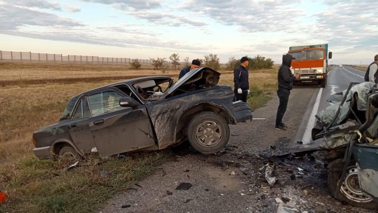 """Два человека погибли в ДТП на трассе """"Самара – Шымкент"""""""