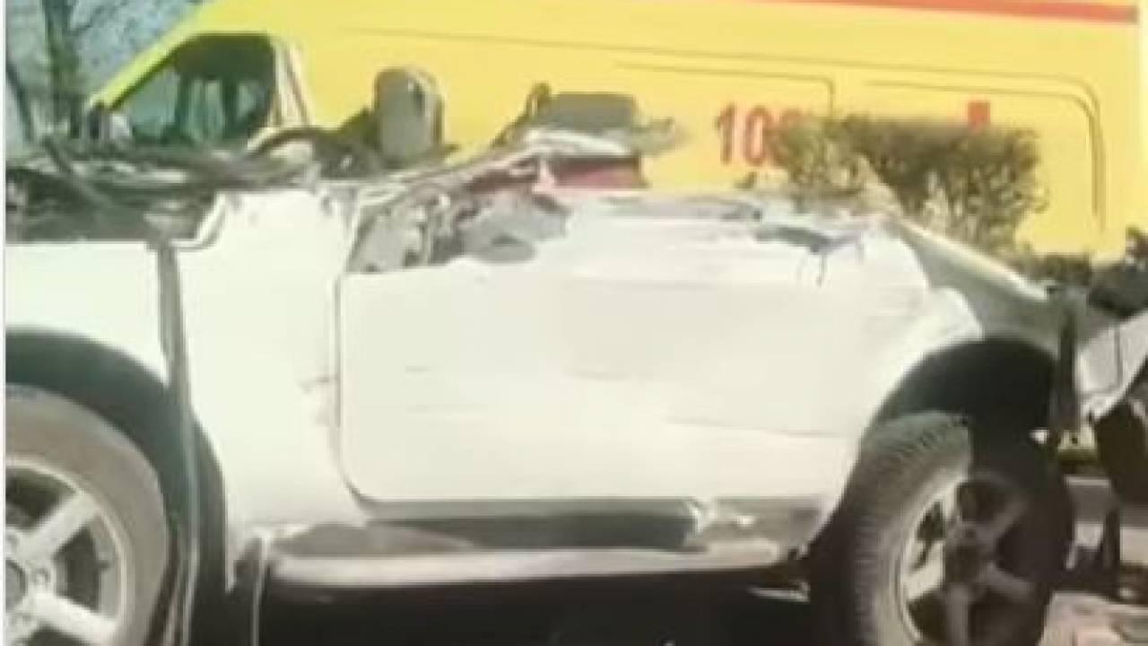 Водитель погиб в страшной аварии в Алматинской области