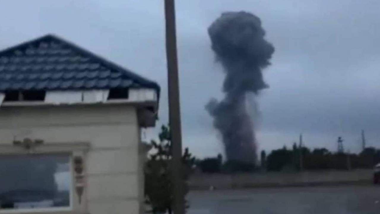 Очередной взрыв произошел близ Тараза